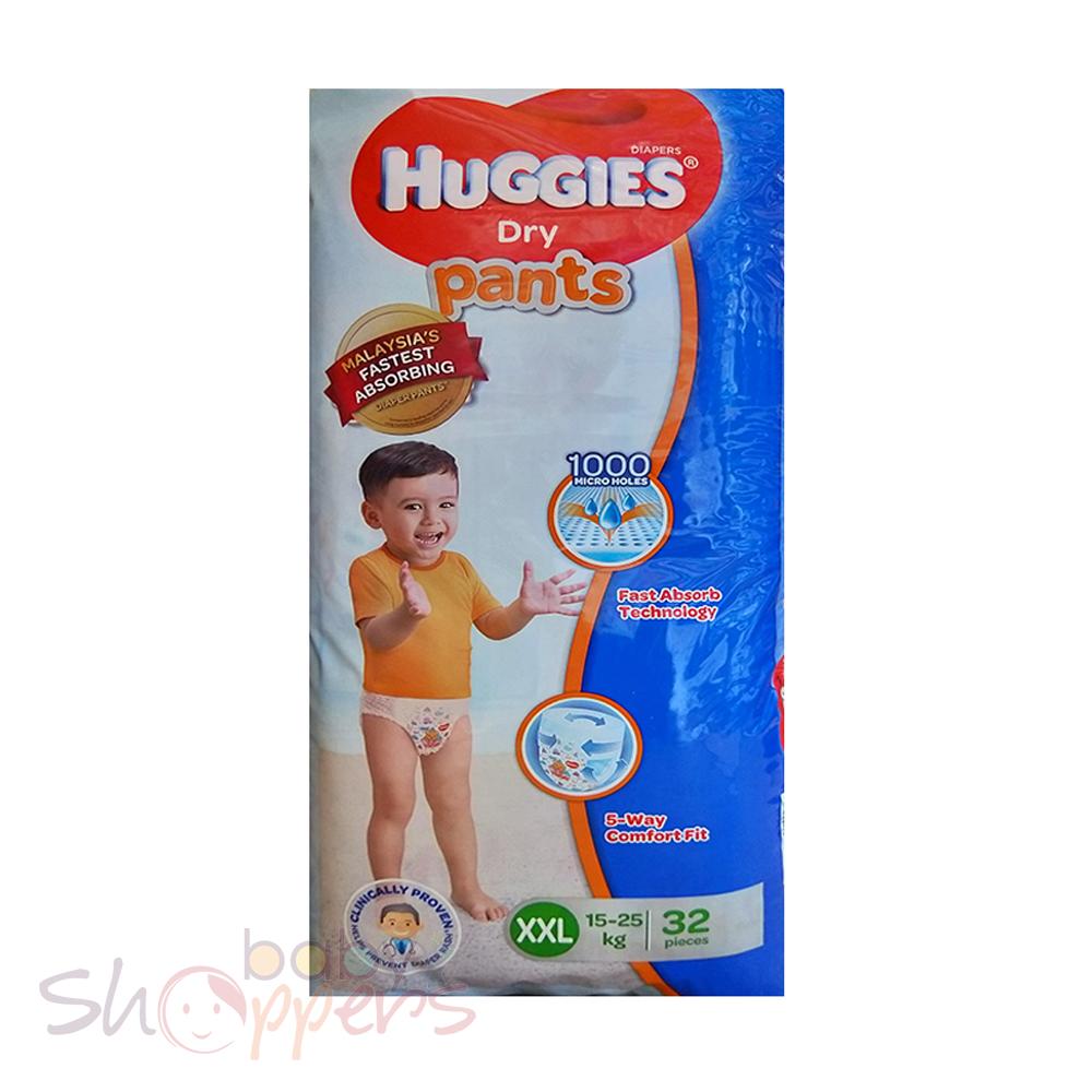 Huggies Dry Pants XXL 32 Pcs (15-25 Kg)