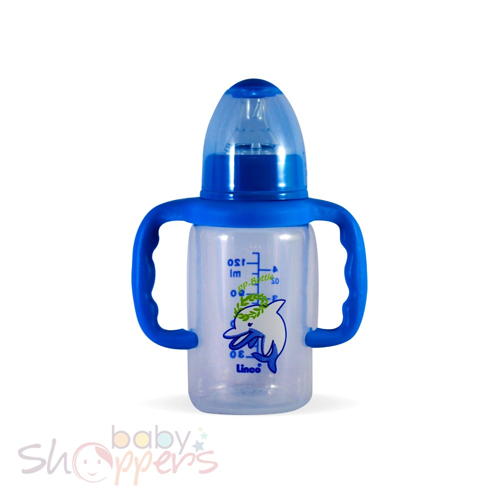 Standrad Feeding Bottle with Handle-120 ml