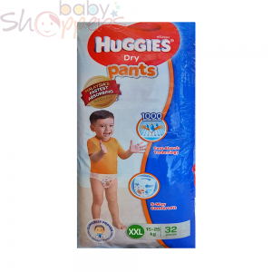 Huggies Dry Pants XXL 32 Pcs (15-25 Kg)