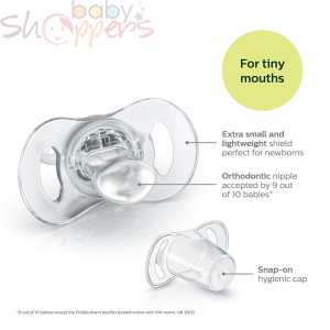 Avent Orthodontic Pacifiers (0-6 month) 2 pcs