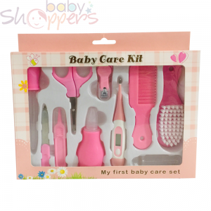 New born baby Health Care Kit Set Pink 10 PCS