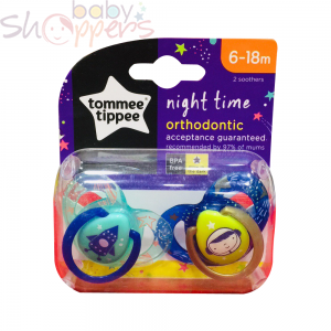 Tommee Tippee Orthodontic Pacifiers(6-18m)