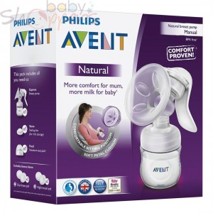 Philips Avent Manual Breast Pump For Baby Feeding