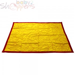 Yellow Nokshi Katha for Baby