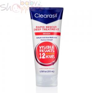 Clearasil Rapid Rescue Deep Treatment wash