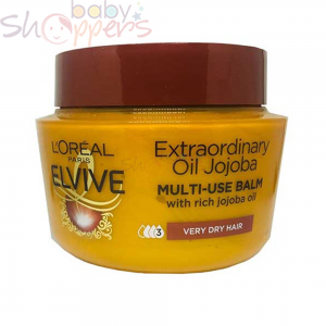 L'Oreal Elvive Extraordinary Oil Multi-Usa Balm Hair Mask With Jojoba Oil - 300ml