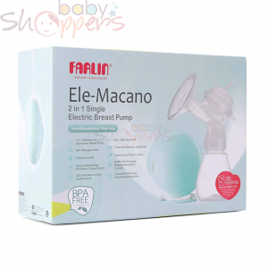 Farlin Ele-Macano 2in1 Single Electric Breats Pump