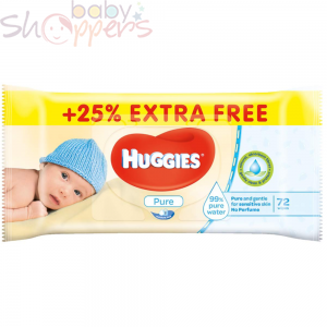 Huggies Baby Wipes Pure 72pcs