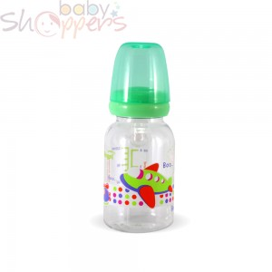 Decorative Round Shape Feeding Bottle-120 ml