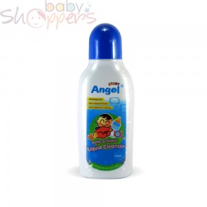 Angel Stony bottle and nipple liquid cleanser