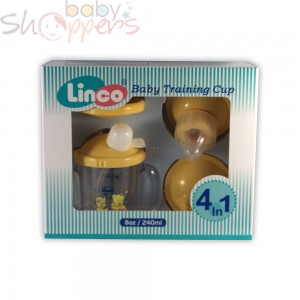 Linco 4-in-1 Training Cup Gift Set