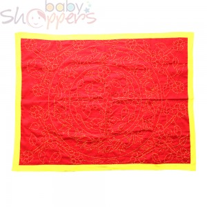 Cotton Soft Red Baby Nokshi Katha