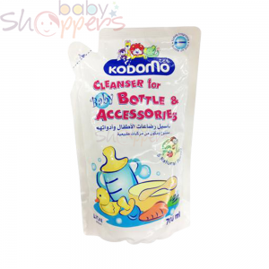 Kodomo Bottle and Accessories Cleanser Refill- 700ml