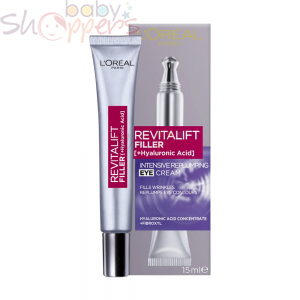 L'Oreal Revitalift Filler + Hyaluronic Acid Eye Cream