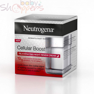 Neutrogena Cellular Boost Rejuvenating Night Cream 50m