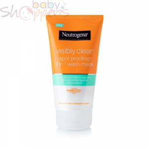 Neutrogena Visibly Clear Spot Proofing 2 in 1 Wash & Mask - 150ml