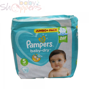 Pampers Baby-Dry (jumbo pack) Size 5 Weight (11kg-16kg)