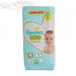 Pampers Premium Protection Size-4 (54 Nappies)