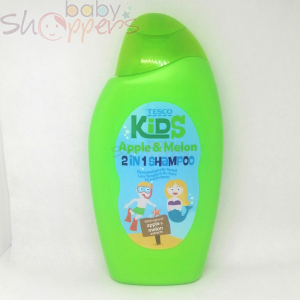 Tesco Kids Apple & Melon 2 in 1 Shampoo-  250ml