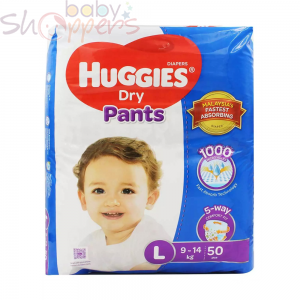 Huggies Dry Pants Large 9-14 kg 50 Pcs