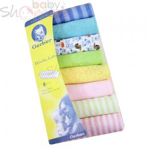 Washcloth Set For Newborn Baby-8 PCs
