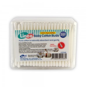 Linco Plastic Cotton Buds Box