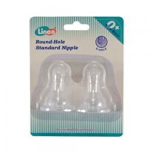 Linco Small Hole Standrad Nipple (02 Pcs)