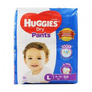 Huggies Dry Pants Large 9-14 kg 50 Pcs
